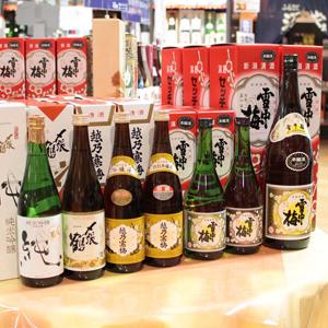 新潟の酒コーナー
